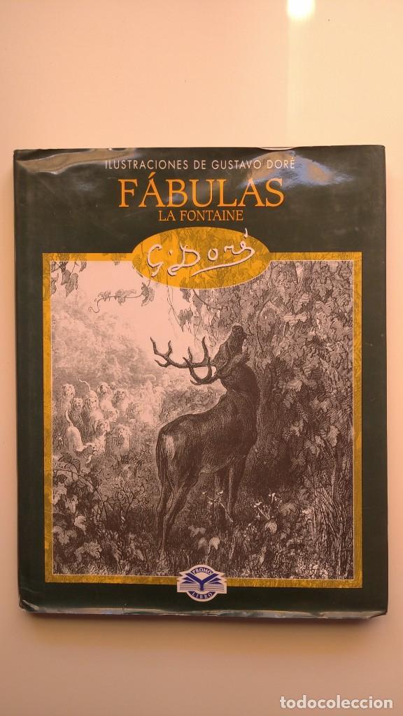 FÁBULAS LA FONTAINE - ILUSTRACIONES DE GUSTAVO DORÉ - EDIMAT LIBROS, 2003 (Libros de Segunda Mano - Bellas artes, ocio y coleccionismo - Pintura)