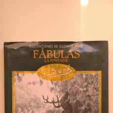 Libros de segunda mano: FÁBULAS LA FONTAINE - ILUSTRACIONES DE GUSTAVO DORÉ - EDIMAT LIBROS, 2003. Lote 276264393