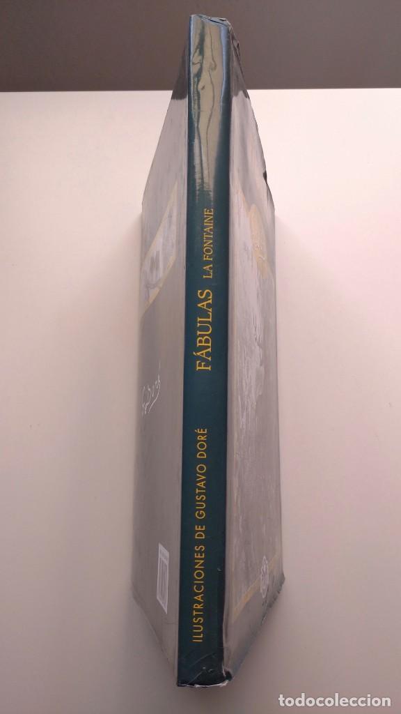 Libros de segunda mano: Fábulas La Fontaine - Ilustraciones de Gustavo Doré - Edimat Libros, 2003 - Foto 2 - 276264393