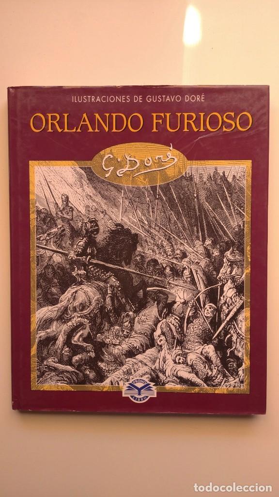 ORLANDO FURIOSO - ILUSTRACIONES DE GUSTAVO DORÉ - EDIMAT LIBROS, 2003 (Libros de Segunda Mano - Bellas artes, ocio y coleccionismo - Pintura)