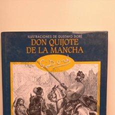 Libros de segunda mano: DON QUIJOTE DE LA MANCHA - ILUSTRACIONES DE GUSTAVO DORÉ - EDIMAT LIBROS, 2003. Lote 276264763