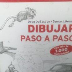 Libros de segunda mano: DIBUJAR PASO A PASO.. Lote 276296813