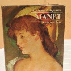 Libros de segunda mano: LOS GENIOS DE LA PINTURA: MANET. Lote 276414793