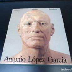 Libri di seconda mano: ANTONILOPEZ GARCIA - DIBUJOS, PINTURAS Y ESCULTURAS - ED.LERNER & LERNER 1989 - EXCELENTE ESTADO. Lote 276739528