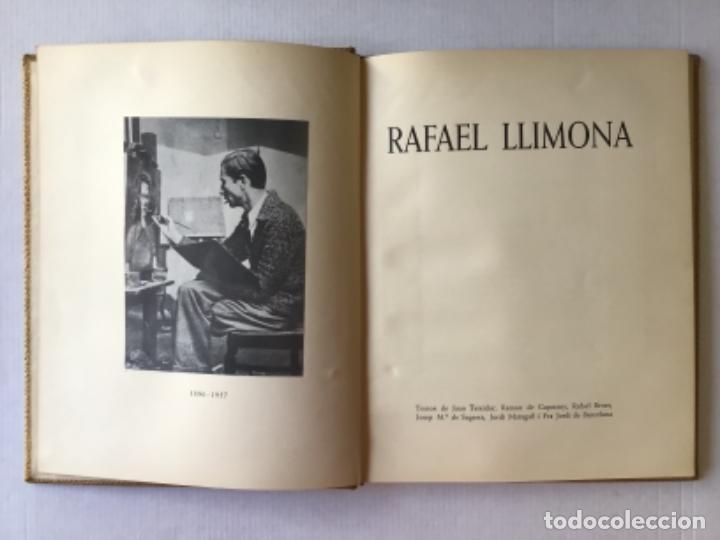Libros de segunda mano: RAFAEL LLIMONA. - TEIXIDOR, Joan, CAPMANY, Ramon de, BENET, Rafael, SAGARRA, Josep Mª de, MARAGALL.. - Foto 2 - 123251695