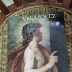 Libros de segunda mano: VELÁZQUEZ - CATALOGO DE LA EXPOSICIÓN DE 1990 - MUSEO DEL PRADO. Lote 277114343