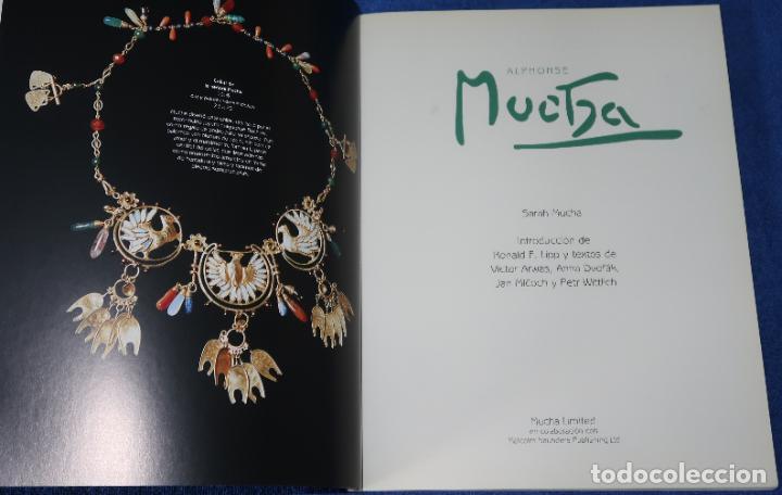 Libros de segunda mano: Alphonse Mucha - Sarah Mucha - Mucha Museum (2000) - Foto 2 - 277668503