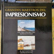 Libros de segunda mano: GRANDES MAESTROS DEL IMPRESIONISMO - IMPRESIONISTAS ESPAÑOLES - ED. CLIB INT DEL LIBRO 2002. Lote 277697123
