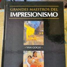 Libros de segunda mano: GRANDES MAESTROS DEL IMPRESIONISMO - VAN GOGH, GAUGUIN - CLUB INTERNACIONAL DEL LIBRO 2002. Lote 277699028