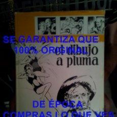 Libros de segunda mano: EL DIBUJO A PLUMA CARLOS FREIXAS TELA CON CAMISA 1967 U53. Lote 277721508