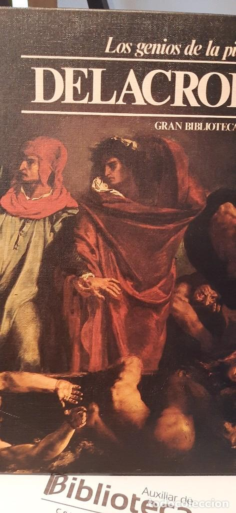LOS GENIOS DE LA PINTURA TOMO 7. DELACROIX. SARPE (Libros de Segunda Mano - Bellas artes, ocio y coleccionismo - Pintura)