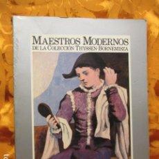 Libros de segunda mano: MAESTROS MODERNOS DE LA COLECCIÓN THYSSEN BORNEMISZA / CENTRO NACIONAL EXPOSICIONES. Lote 278629603