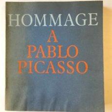 Libros de segunda mano: HOMMAGE A PABLO PICASSO.. Lote 123145376