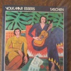 Libros de segunda mano: MATISSE. VOLKMAR ESSERS- LIBRO GRAN FORMATO DE TASCHEN- EN INGLES.. Lote 280972218