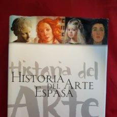 Libros de segunda mano: HISTORIA DEL ARTE ESPASA. Lote 284624163