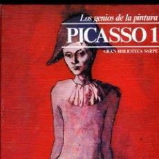 Libros de segunda mano: DOS LIBROS=LOS GENIOS DE LA PINTURA-PICASSO 1 Y PICASSO 2=LEER DESCRIPCION SOBRE PAGINAS INTERIORES.. Lote 285173313