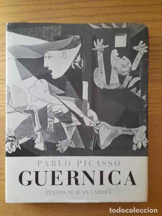 PABLO PICASSO. GUERNICA PICASSO, PABLO) LARREA, JUAN. CUADERNOS PARA EL DIALOGO, 1977 (Libros de Segunda Mano - Bellas artes, ocio y coleccionismo - Pintura)