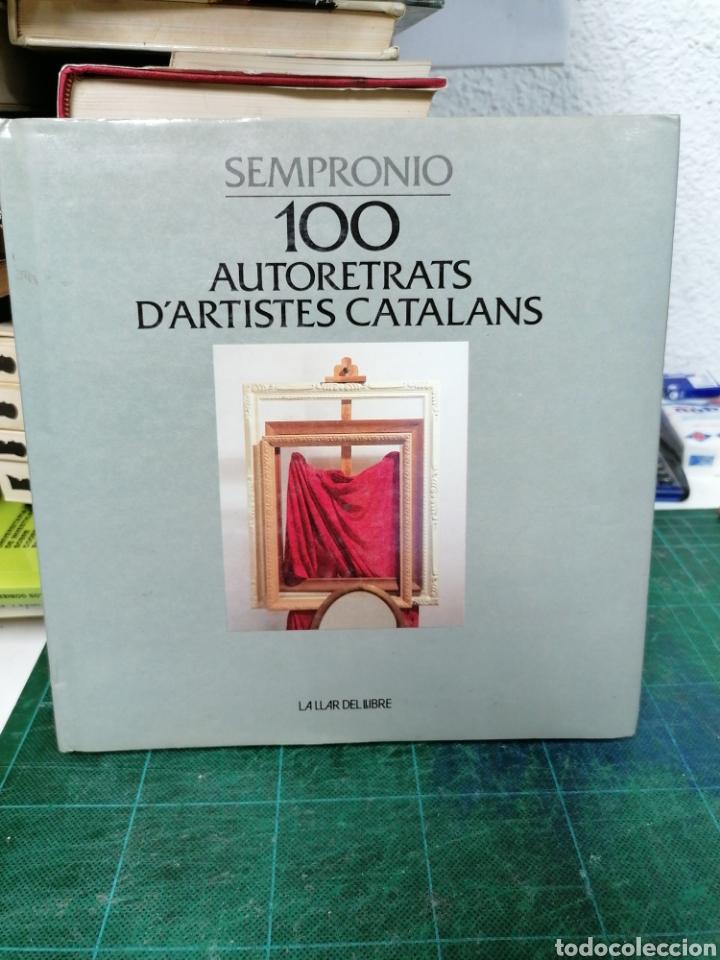 100 AUTORRETRATS D'ARTISTES CATALANS. (Libros de Segunda Mano - Bellas artes, ocio y coleccionismo - Pintura)