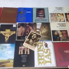 Libros de segunda mano: LOTE LIBROS DE ARTE. GRANDES ESTILOS DE LA PINTURA. EL ROSTRO HUMANO EN EL ARTE. PRADO. DALÍ. GRECO.. Lote 287982833