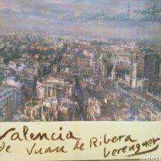 Libros de segunda mano: EL PAISAJE URBANO DE VALENCIA EN LA PINTURA DE JUAN DE RIBERA BERENGUER-1988. Lote 287986558