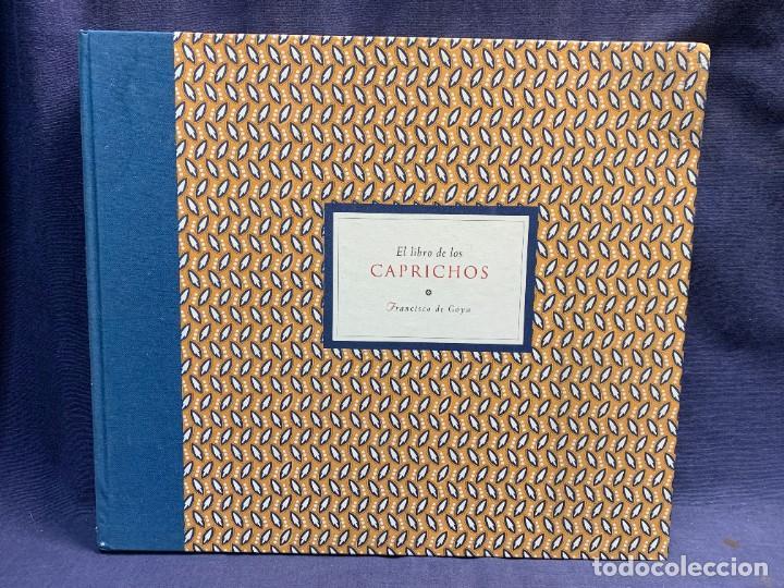 LIBRO CAPRICHOS GOYA MUSEO PRADO MADRID 1999 CATALOGO 1ª EDICION 35X40X6CMS (Libros de Segunda Mano - Bellas artes, ocio y coleccionismo - Pintura)
