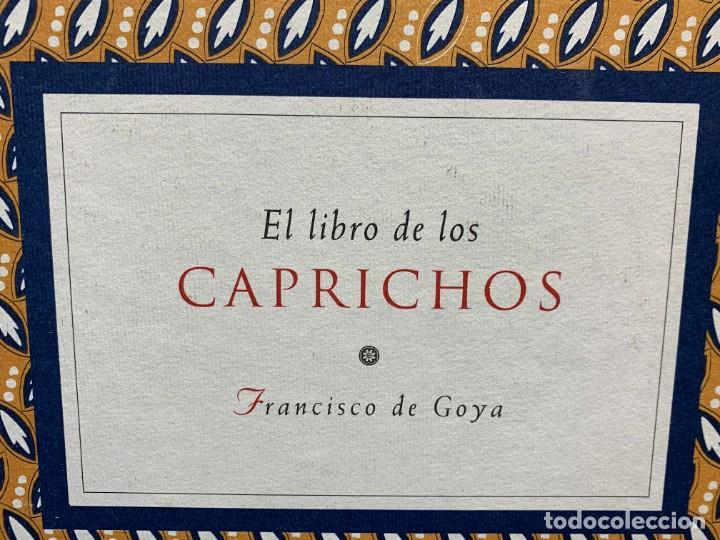 Libros de segunda mano: LIBRO CAPRICHOS GOYA MUSEO PRADO MADRID 1999 CATALOGO 1ª EDICION 35X40X6CMS - Foto 2 - 287997253
