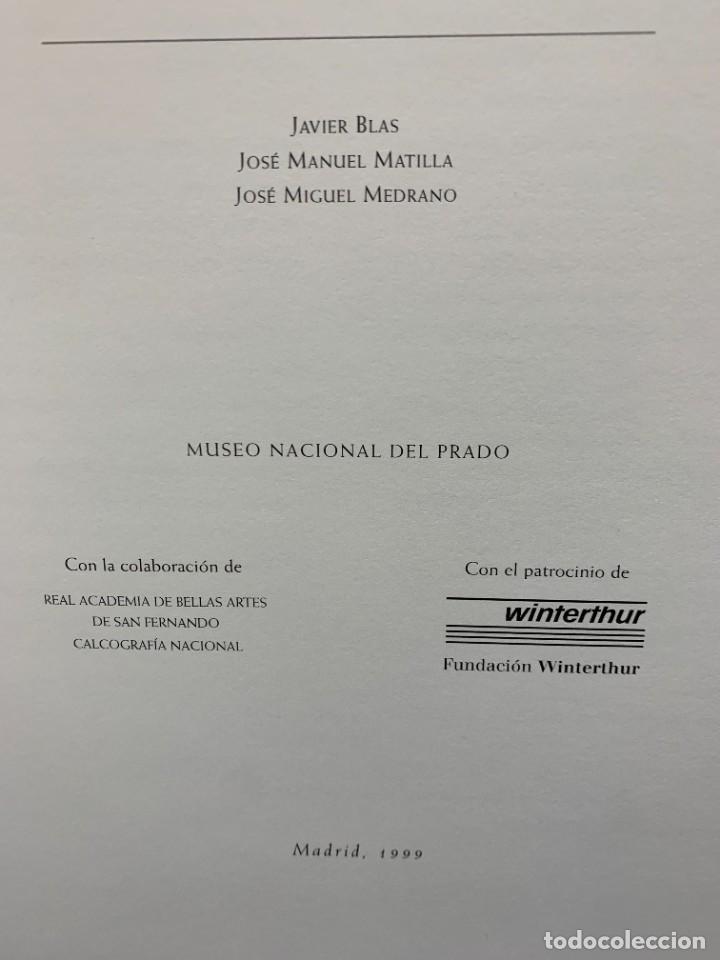 Libros de segunda mano: LIBRO CAPRICHOS GOYA MUSEO PRADO MADRID 1999 CATALOGO 1ª EDICION 35X40X6CMS - Foto 5 - 287997253
