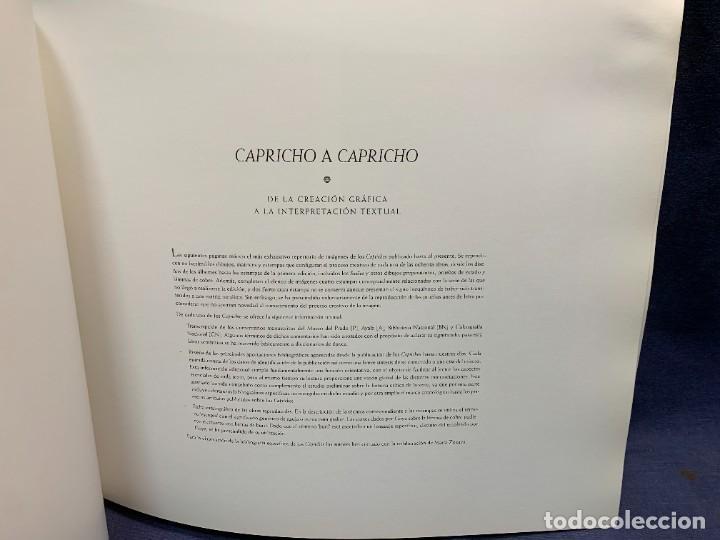 Libros de segunda mano: LIBRO CAPRICHOS GOYA MUSEO PRADO MADRID 1999 CATALOGO 1ª EDICION 35X40X6CMS - Foto 6 - 287997253