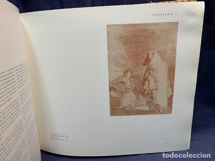 Libros de segunda mano: LIBRO CAPRICHOS GOYA MUSEO PRADO MADRID 1999 CATALOGO 1ª EDICION 35X40X6CMS - Foto 7 - 287997253