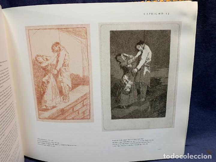 Libros de segunda mano: LIBRO CAPRICHOS GOYA MUSEO PRADO MADRID 1999 CATALOGO 1ª EDICION 35X40X6CMS - Foto 8 - 287997253