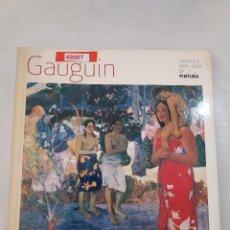 Libros de segunda mano: 48907 - GAUGUIN - GRANDES MAESTROS DE LA PINTURA - AÑO 2008. Lote 287999543