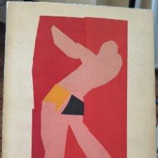 Libros de segunda mano: HENRI MATISSE : LES GRANDES GOUACHES DÉCOUPÉES.1961. Lote 288009138