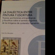Libros de segunda mano: LA DIALÉCTICA ENTRE PINTURA Y ESCRITURA. Lote 288013138