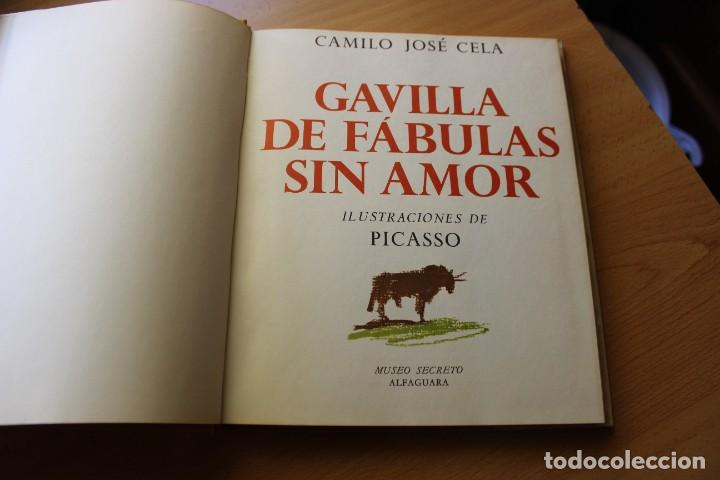 Libros de segunda mano: Gavilla de Fábulas sin Amor, Camilo José Cela con ilustraciones de Picasso - Foto 2 - 288077298
