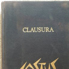 Libros de segunda mano: COSTUS. CLAUSURA. CATÁLOGO 1992.. Lote 288151318