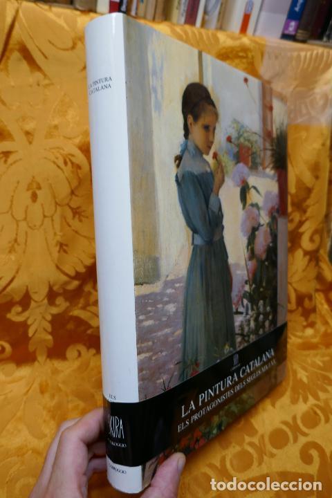 Libros de segunda mano: LA PINTURA CATALANA. ELS PROTAGONISTES DELS SEGLES XIX I XX - J.-R.TRIADÓ SKIRA LIBRO PINTURA - Foto 3 - 288304423