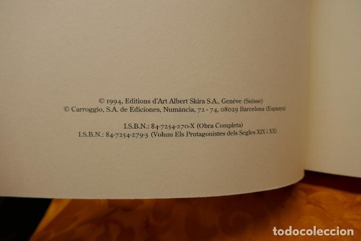 Libros de segunda mano: LA PINTURA CATALANA. ELS PROTAGONISTES DELS SEGLES XIX I XX - J.-R.TRIADÓ SKIRA LIBRO PINTURA - Foto 6 - 288304423