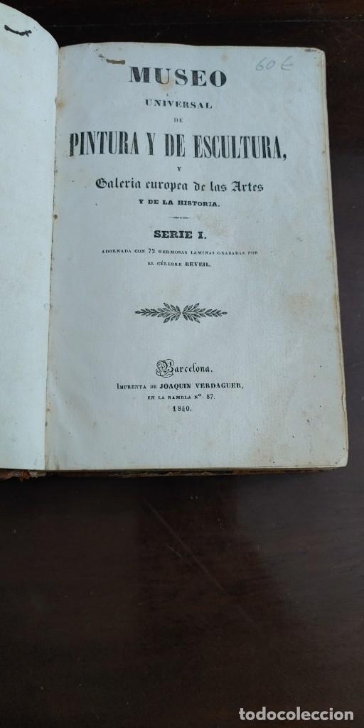MUSEO UNIVERSAL DE PINTURA Y DE ESCULTURA. GALERÍA DE LAS ARTES SERIE I , PYMY 60 (Libros de Segunda Mano - Bellas artes, ocio y coleccionismo - Pintura)
