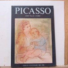 Libros de segunda mano: JOSEP PALAU I FABRE - PICASSO. EDICIÓ CENTENARI 1881-1981 - 30X21 CM - 130 PAGINAS. Lote 288583418