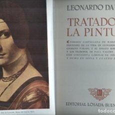 Libros de segunda mano: LEONARDO DA VINCI: TRATADO DE LA PINTURA. Lote 288679823