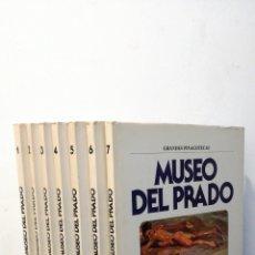 Libros de segunda mano: GRANDES PINACOTECAS ~ MUSEO DEL PRADO ~ 7 VOLUMENES °. Lote 288732618