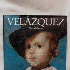 Libros de segunda mano: VELÁZQUEZ. MAURIZIO MARINI. MUY BUEN ESTADO. Lote 288741138