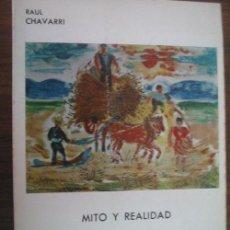 Libros de segunda mano: MITO Y REALIDAD DE LA ESCUELA DE VALLECAS. RAUL CHAVARRI, IBERICA EUROPEA DE EDICIONES MADRID 1975.. Lote 289529378