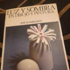 Libros de segunda mano: LUZ Y SOMBRA EN DIBUJO Y PINTURA. Lote 293835823