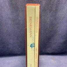 Libros de segunda mano: BRINKMANN OBRA GRAFICA Y ESCULTURAS PINTURAS 2 TOMOS 1957-1992 JOSE MANUEL CABRA AYTA MALAGA 29X23X5. Lote 295591503