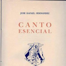 Libros de segunda mano: CANTO ESENCIAL - CANARIAS - POESÍA - EDICIÓN LIMITADA. Lote 26174078