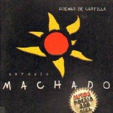 Libros de segunda mano: MACHADO, ANTONIO. POEMAS DE CASTILLA. MITOS, POESIA. PO-139. Lote 52952257