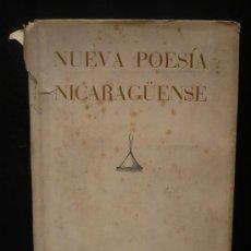 Libros de segunda mano: NUEVA POESIA NICARAGUENSE. ANTOLOGIA. SEMINARIO HISPANO.1949.1ºED.512 PAG.SLEC.ERNESTO CARDENAL.. Lote 25330668