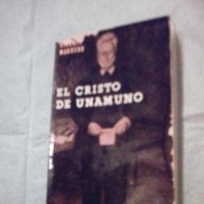 Libros de segunda mano: EL CRISTO DE UNAMUNO DE VICENTE MARRERO (RIALP). Lote 20174414