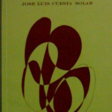 Gebrauchte Bücher - JOSE LUIS CUESTA SOLAR TRAZOS DEL ALMA POESIA - 24713645
